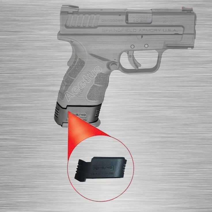 Magazine Sleeve Fits Springfield XD subcompacts on XD Full Size Mags Magazine Sleeve For XD/9MM/40 Caliber Free Shipping #Affiliate