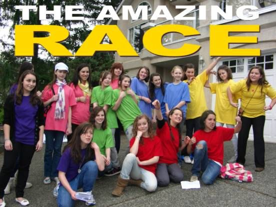 "How to do an ""Amazing Race"" for a party, so cool!"
