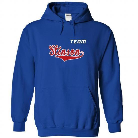 Team Stinson - #cool hoodie #sweatshirt pattern. OBTAIN LOWEST PRICE => https://www.sunfrog.com/LifeStyle/Team-Stinson-juzukmmefz-RoyalBlue-22337265-Hoodie.html?68278