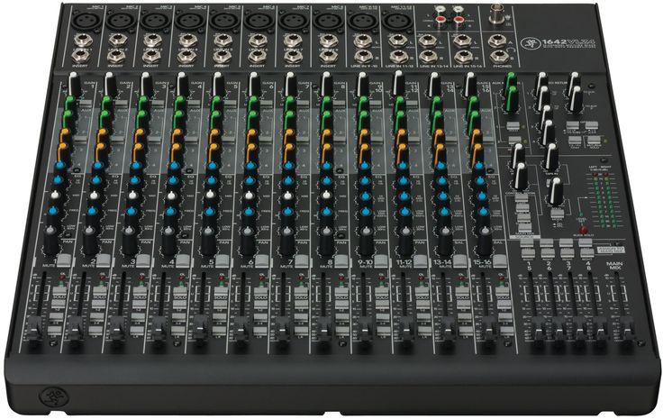Mackie 1642VLZ4 16-Channel Compact Pro Audio Mixer
