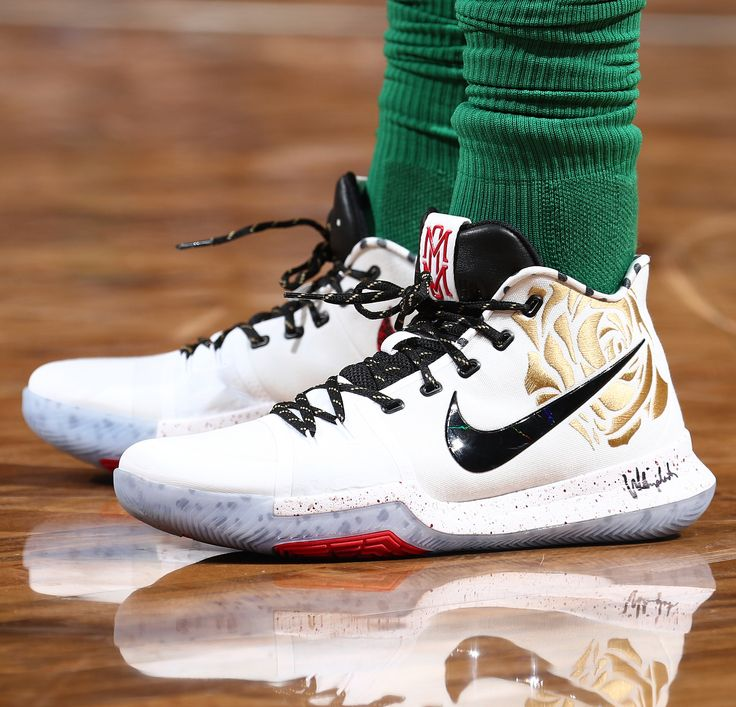 """12.3k Likes, 32 Comments - Bleacher Report Kicks (@br_kicks) on Instagram: """"1 of 50 in the world. @KyrieIrving wearing the @SneakerRoom Nike Kyrie 3 by @TheRealSuraj201…"""""""
