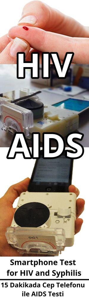 Smartphone Test for HIV and Syphilis. 15 Dakikada AIDS testi.