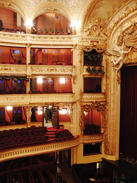 Jacques Offenbach  théâtre national de l'Opéra-Comique