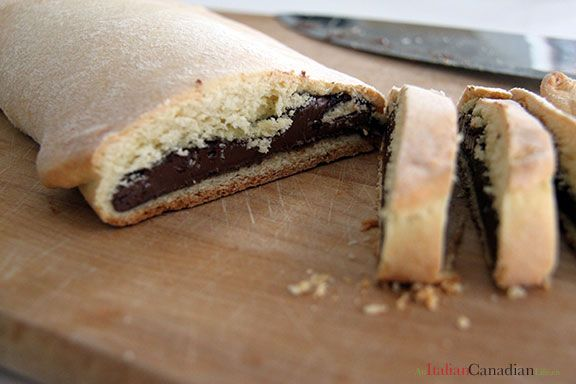 Nutella Roll Recipe www.anitaliancanadianlife.ca