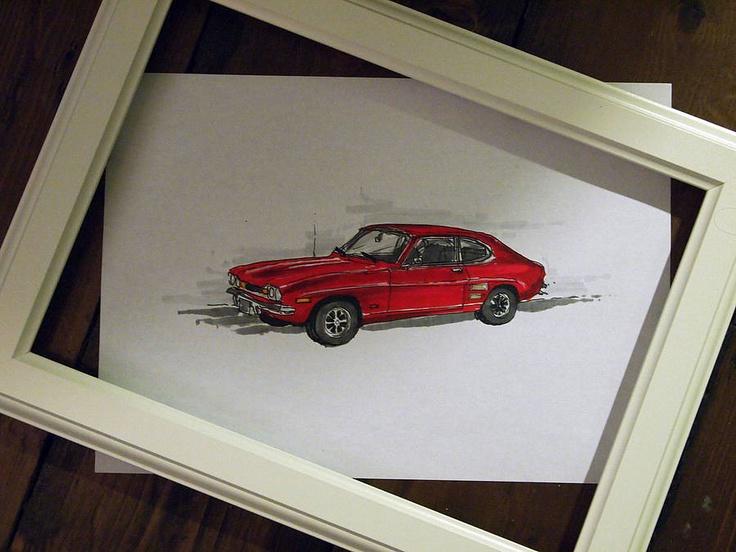 Bespoke Car Sketch, £42.00