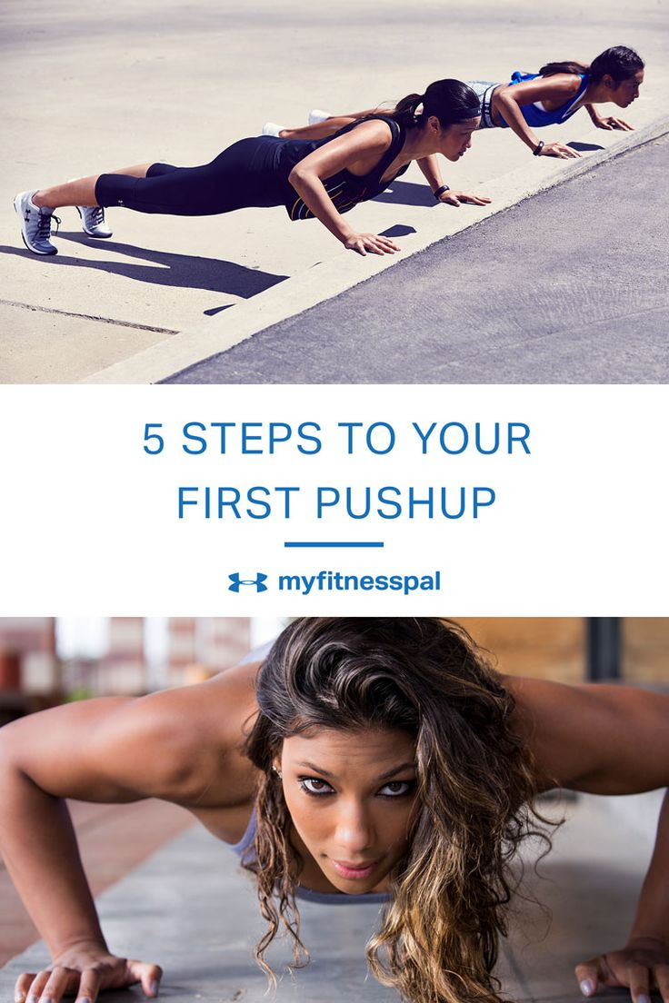 5 Steps to Your First Pushup