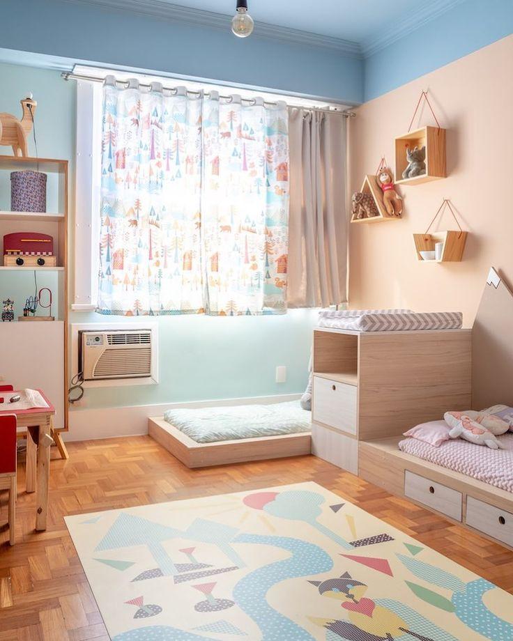 Olha a marcenaria feita para um quarto montessoria…