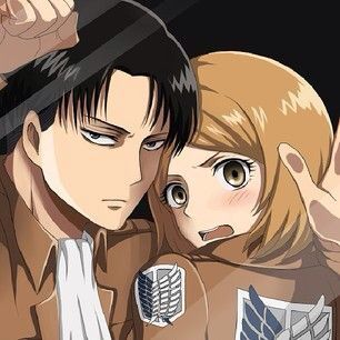 Levi and Petra. Attack on Titan.