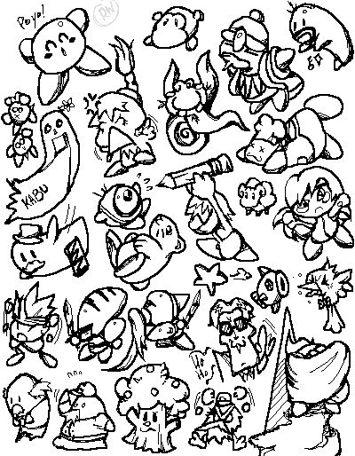 Hoshi no Kirby Character Sheet by DemandinCompensation on DeviantArt