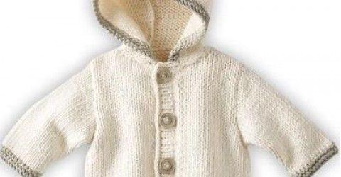 Yeni Sezon Bebek Kapşonlu Bebek Hırkası Örgü Modelleri