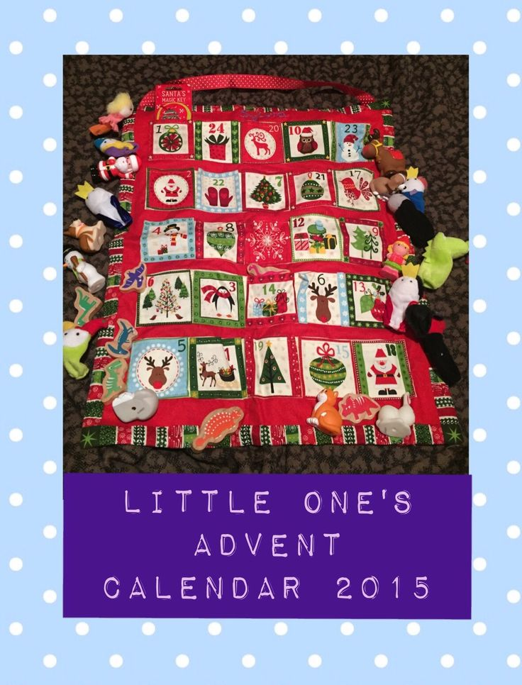 With the first of December only a few days away I thought I'd best talk about advent. Little one was coming up to six months old when it was her first advent two years ago. I'd seen in …