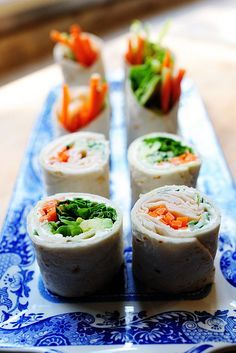 These but with lettuce or cucumber as the wrap/roll up