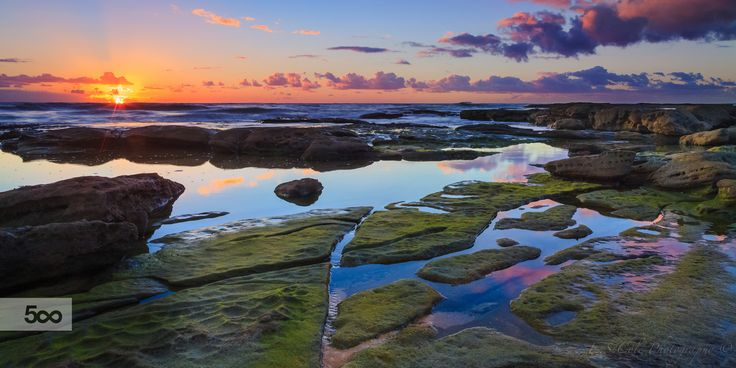 sunrise reflections by Erin Cole   E.S.Cole Photography on 500px https://www.facebook.com/E.S.ColePhotography