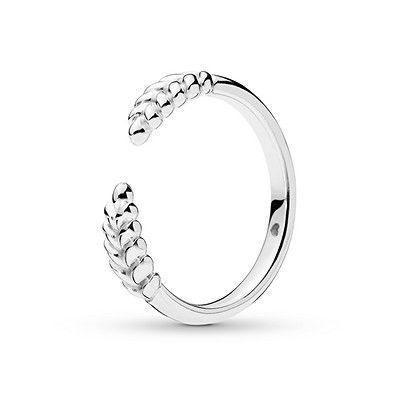 ae11db7b9 Pandora Ring Open Grains Sterling Silver in 2019 | Products | Pandora rings,  Pandora jewelry, Rings
