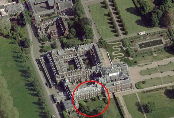 Kate and William's Kensington Palace home in London ...