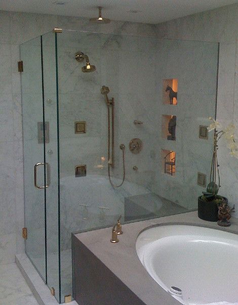 frameless glass shower doors binswanger glass frameless shower enclosure featuring patch fitting hardware