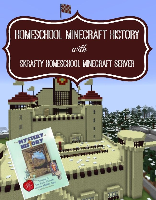 http://whenyouriseup.com/minecraft-homeschool-server/minecraft-curriculum/minecraft-homeschool-history-mystery-of-history-meets-minecraft/?ap_id=educationpossible                                                                                                                                                                                 More