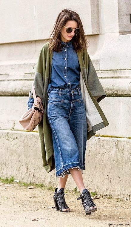 awesome double denim situ. Paris.  How great are these denim jeans? I just fell in love with these: asos.do/ORuM4X