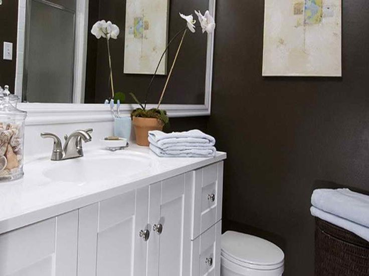 17 best images about bathroom makeovers on a budget on for Small half bathroom ideas on a budget