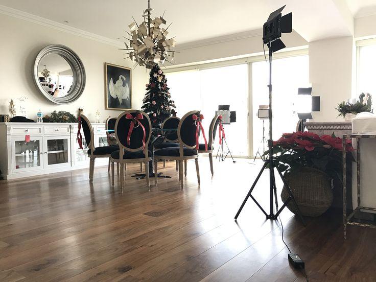Decorando la casa de Navidad!! Comedor, árbol navideño... que emoción!