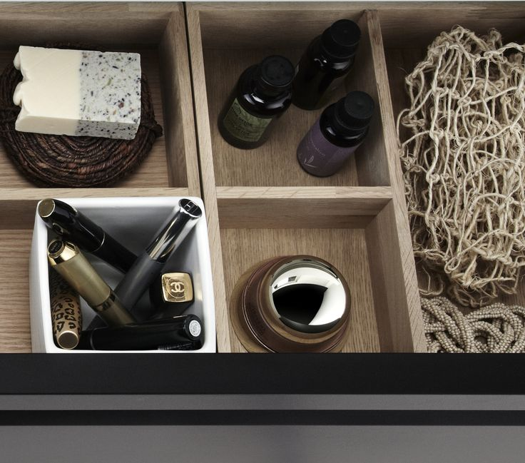 Dansani wooden drawer dividers maximise the use of your drawers.
