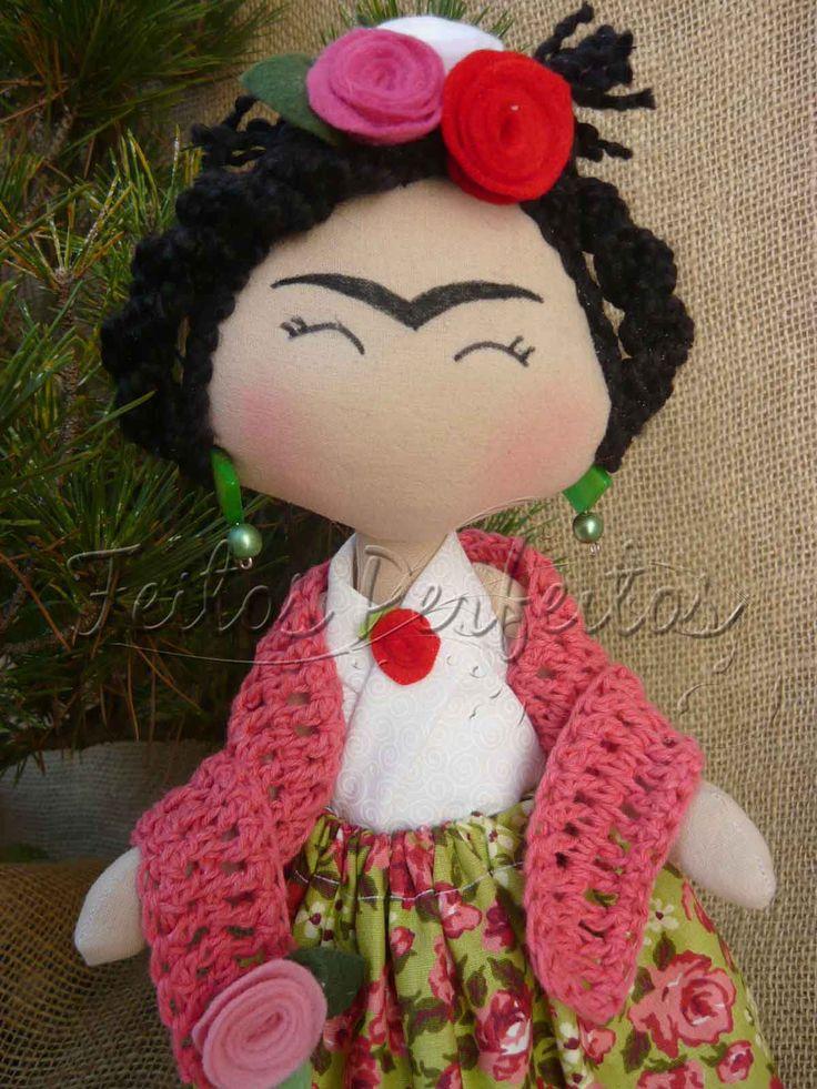 Tilda By Feitos Perfeitos: Frida Kahlo dolls