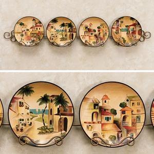 Mediterranean Villas Decorative Plate Set