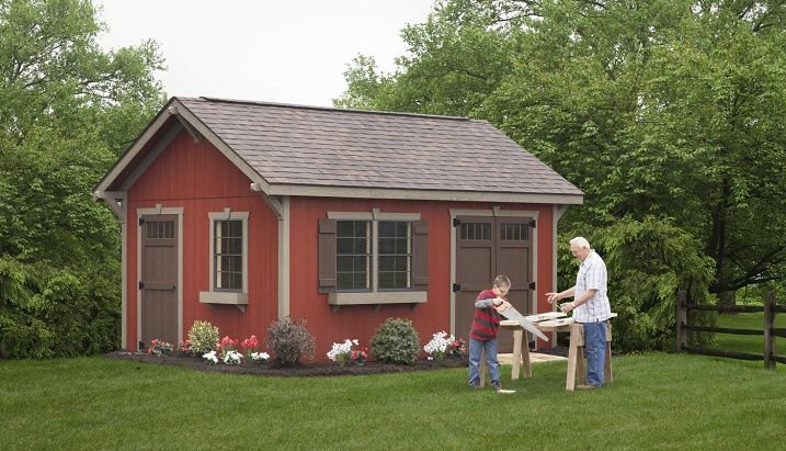 $14,900 - Estate Sheds for Sale at Weaver Barns. Are you looking for for tough shed, high quality estate sheds for your home or business? We have them!