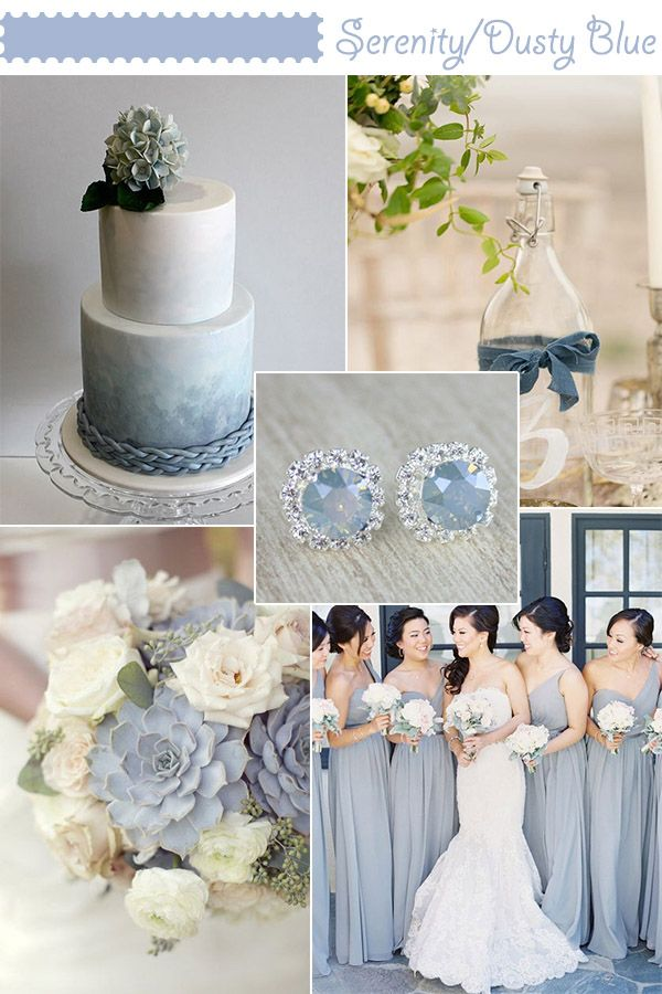 Pantone Colour Of 2016 Serenity Blue Wedding Colors In 2018 Pinterest And Spring