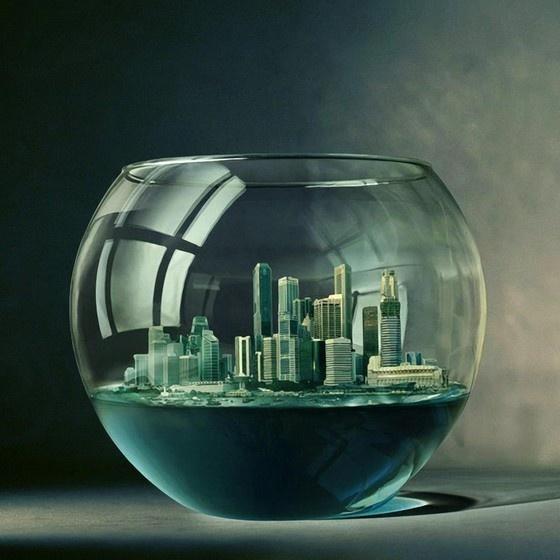 Fishbowl city