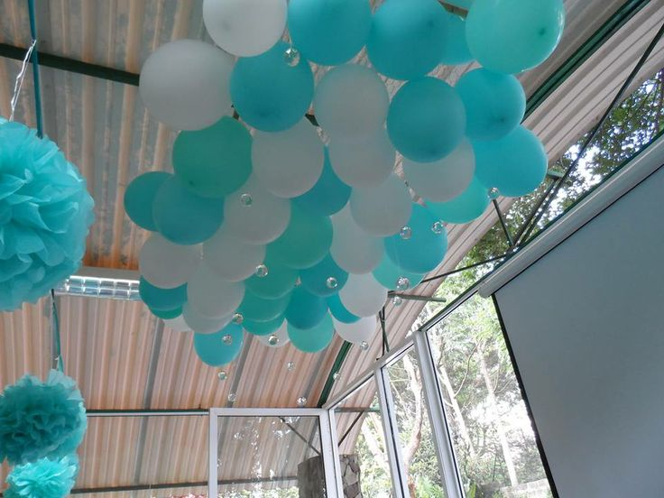 Balloon cloud balloons pinterest for Balloon cloud decoration