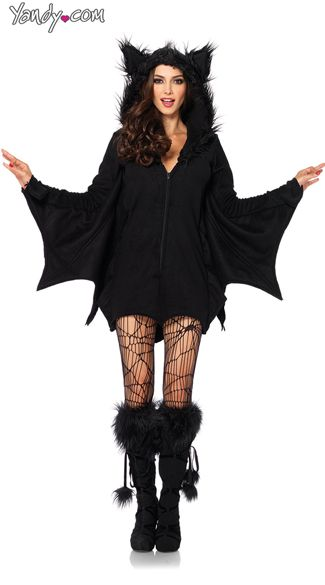 Fleece Bat Costume, $49.95 #besexy #yandydotcom