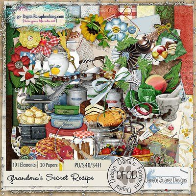 Grandma's Secret Recipe Collab   Kit