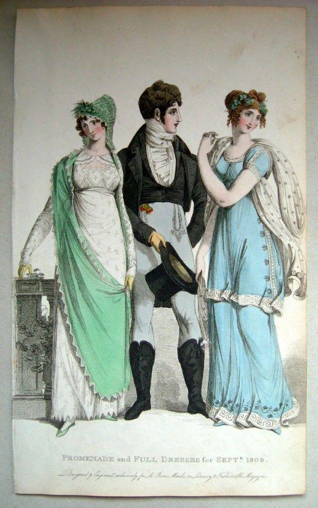 A very smart gentleman. 1808 - Beau Monde