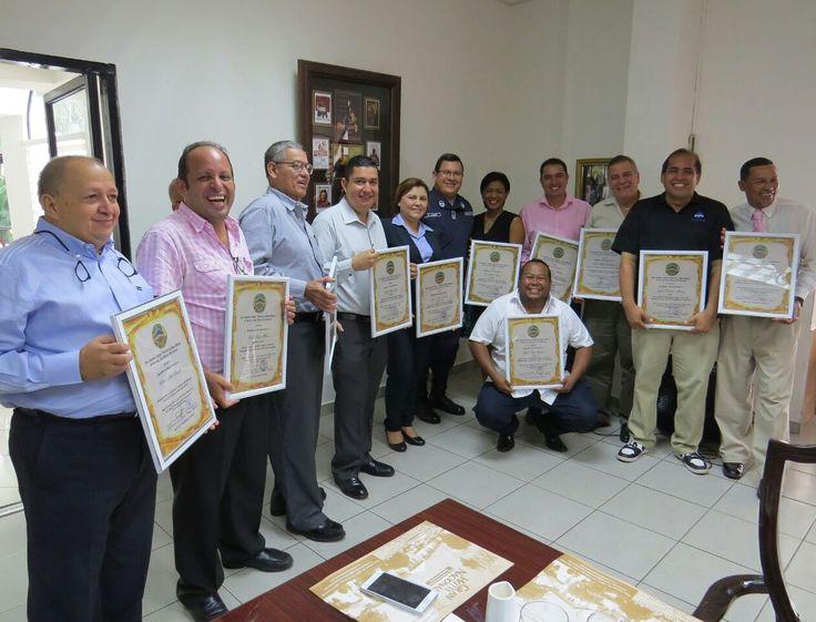 Policía Nacional reconoce apoyo de la CAMCHI y de la prensa regional