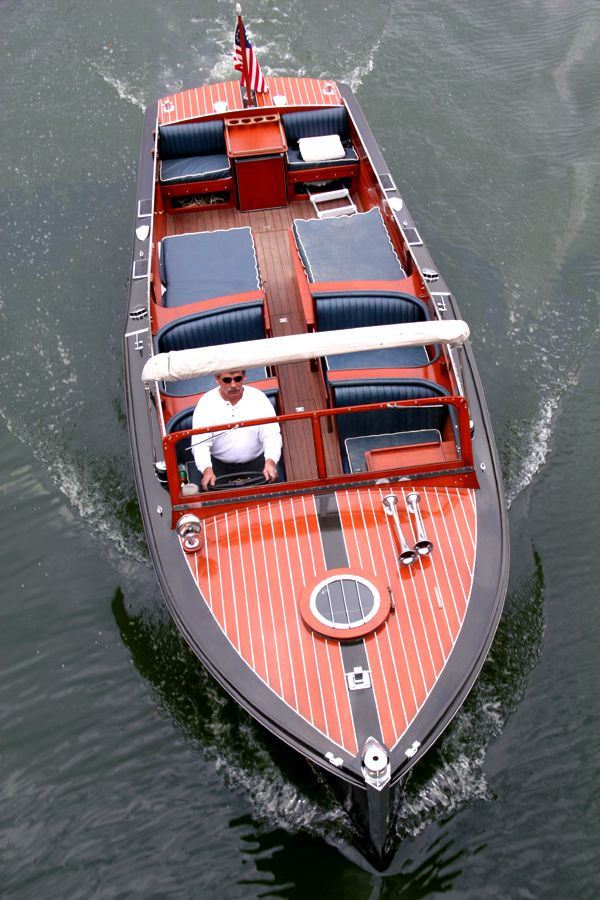 1938 29' Chris-Craft Sportsman, I'd get this one if I had an extra $185,000 laying around.
