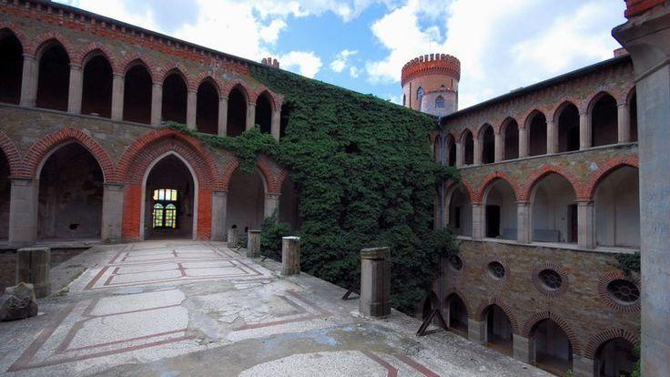 Kamieniec Ząbkowicki - zamek, pałac, historia, zwiedzanie