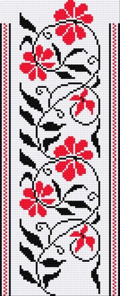 ethnic embroidery motifs | EMBROIDERY PATTERN UKRAINIAN « EMBROIDERY & ORIGAMI