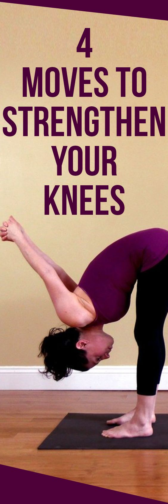 4 Moves to Strengthen Your Knees