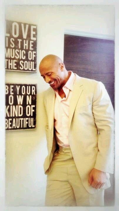 Dwane Johnson....in love with him