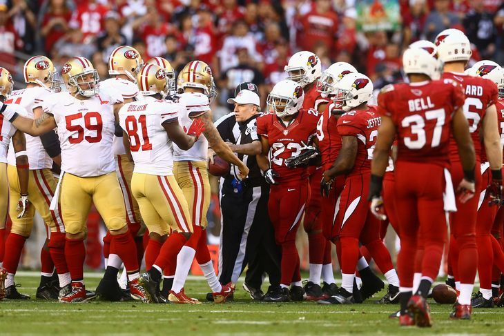 Cardinals vs. 49ers: There's history between Arizona and San Francisco -  By BigRedBilly on Sep 24, 2015, 3:00p