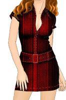 Спортивные рубашки свободный образец Платье Camisero Mold установлены на тело с молнией спереди и поя