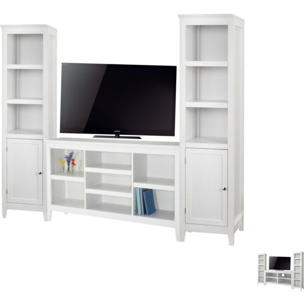 Tv Unit Living Room Threshold Carson Horizontal Bookcase 139 99 2 Narrow