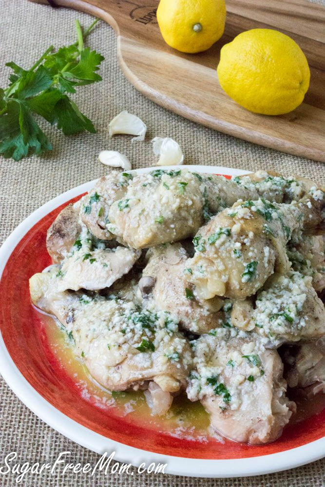 <em> Crock Pot Garlic Parmesan Drumsticks (Low Carb, Gluten Free) </em> <em class=short_underline>  </em> This fabulous, plentiful chicken recipe is made in the slow cooker for an easy weeknight meal! It's Back to School season and I'm a busy mother of three who homeschools and works at home. I have worked outside of the home as a school teacher and now I work in the home. I have to say that working at home is much harder for me. Not on...