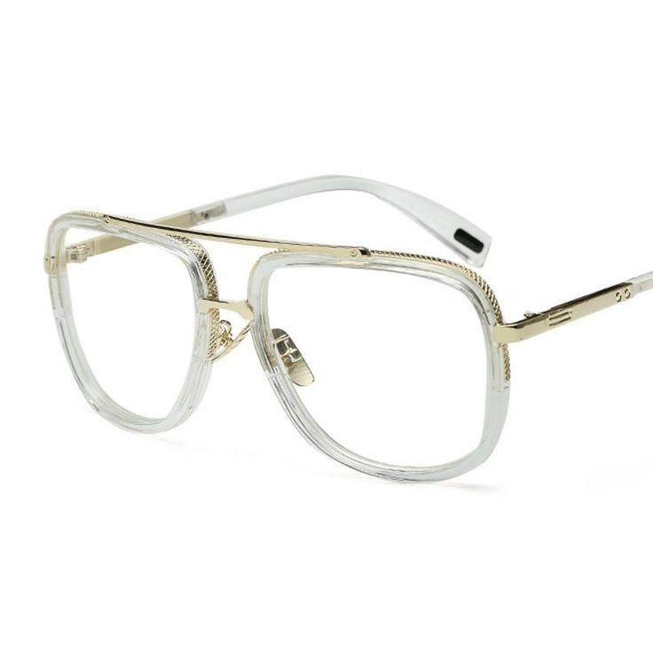 Transparent Eye Glasses Frames for Men