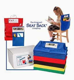 The Adventures of Miss Elisabeth: Classroom Management {Seat Sack Style} and a BIG, BIG Giveaway!!
