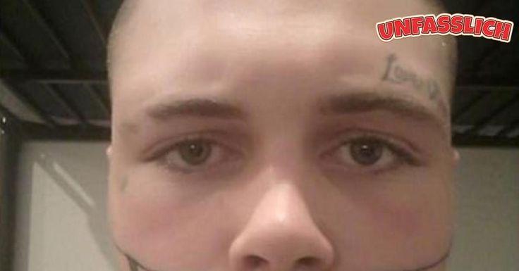 Vorbestrafter junger Vater findet wegen Gesichts-Tattoos keine Arbeit. http://unfasslich.com/vorbestrafter-junger-vater-findet-wegen-gesichts-tattoos-keine-arbeit/ #unfasslich #blog #tipps #tricks #lifestyle #news #unglaubliches #hilfreiches #neuigkeiten #interessantes