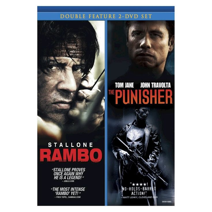 Rambo 4 & Punisher (Dvd), Movies