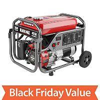 Black Max 3,550 Watt Portable Gas Generator - Sam's Club