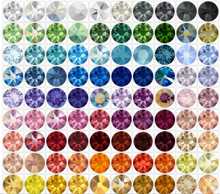 Interactive Swarovski Color Chart from Stefanie Somers Jewelry. Check availability for every color in the Swarovski range SSC uses!